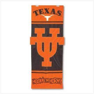Door Banner 28 x 74 NCAA Texas Longhorns Flag Dorm Room Party Tailgate