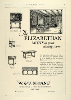 Sloane Elizabethan Dining Room Furniture Home Decor Furnishings