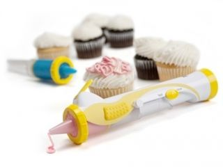 Kuhn Rikon Cake Decorating Pen Electric Battery Powered Frosting Icing