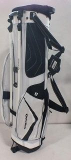 TaylorMade 2012 Micro Lite 3.0 Crusader Stand Golf Bag White/Black