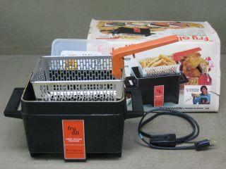 Hamilton Beach Original Fry All Deep Fryer Cooker in Box 2121