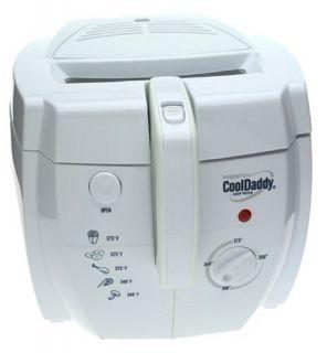 Presto Cooldaddy Electric Deep Fryer White Brand New