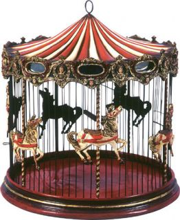 Decorative Birdcage Victorian Style Carousel Bird Cage Antique Style