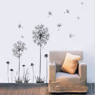 DIY Removable Dandelions Decorative Wall Sticker Home Art Mural Decal