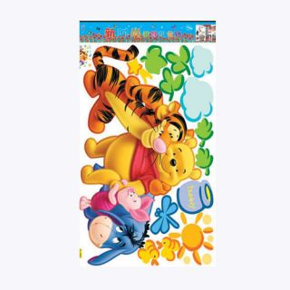 DIY Decorative Wall Art Sticker Pooh Bear Wall Stickers Pooh Wall Deco