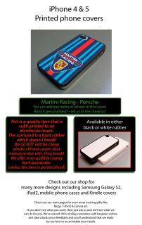Martini Racing International Porsche Fits iPhone 4 4S Cover Case