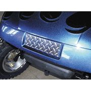 Go Golf Cart Highly Polished Diamond Plate Front Name Plate