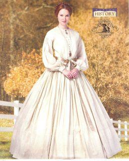 Civil War Day Dress Pattern Butterick 5831 Historical Southern Belle