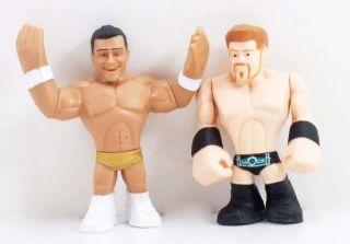 WWE Wrestling Rumblers Alberto Del Rio Sheamus Mini Figure Loose RARE