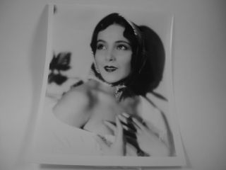 Dolores Del Rio Famous Mexican Actress Portrait SH7