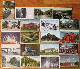 Postcards   DELAWARE WATER GAP / POTTSTOWN / WILKES BARRE