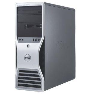 Dell Precision T5400 Intel 2X 3GHz Quad Core 4GB 2X750GB Workstation