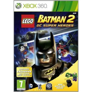 DC Super Heroes Limited Edition With Lex Luthor Toy XBox 360 Game