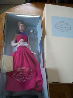 Princess Diana Franklin Mint Porcelain Doll