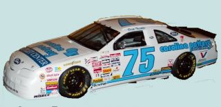 75 Dick Trickle Carolina Pottery Ford 1 64th HO Scale Slot Car Decals