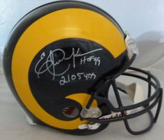 Eric Dickerson Autographed Signed Los Angeles Rams Proline Helmet w