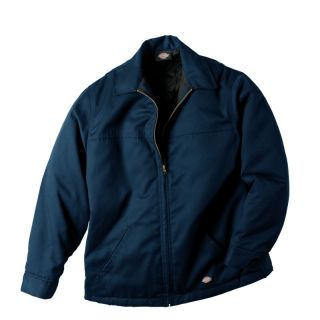 Dickies Mens Hip Length Twill Dark Navy Blue DN Jacket Outerwear Style