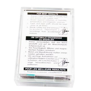 MC 90UR Micro Cassette Tape for Dictaphones Portable Recorder