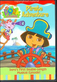 Dora The Explorer Pirate Adventure DVD 2004 097368795846