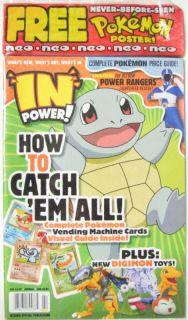 1999 Pokemon Squirtle Digimon Toys Neo Power Ranger Rescues