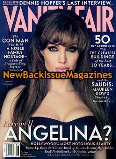 Vanity Fair 8 10 Angelina Jolie Dennis Hopper 2010 New