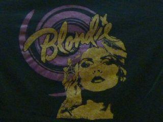 Blondie Deborah Harry Ladies Rock T Shirt M L