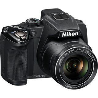 nikon coolpix p500 digital camera black refurbished