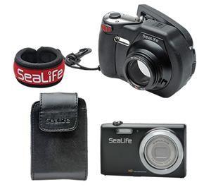 sealife dc1400 pro 14mp hd underwater digital camera with flash flex