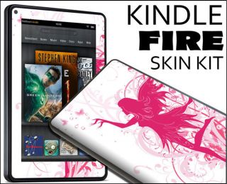 Kindle Fire Skin Vinyl Decal eBook Netbook Tablet 044 Fairy