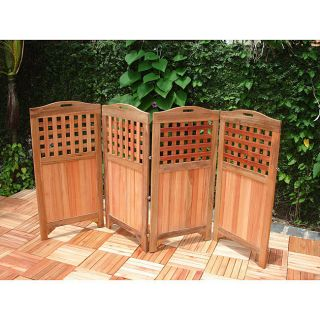 Outdoor privacy screens 2 styles 5 colors portable for Portable patio privacy screens
