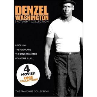 Denzel Washington Spotlight Four Film Collection DVD