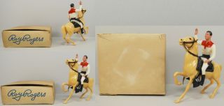 hartland 4 5 cowboy mini roy rogers 1950s mib boxed