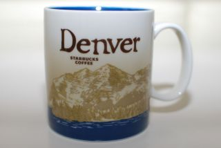 STARBUCKS 2011 Denver Global Icon City Mug Collector Series Ceramic