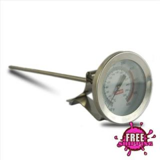 NEW Deep Fry Oil Thermometer Temperature Tester Kitchen Tools Dial