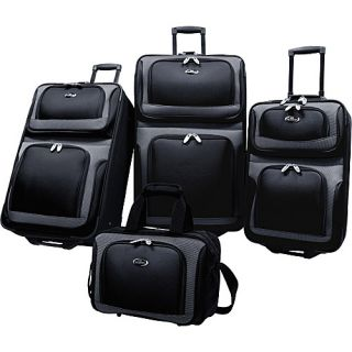 U s Traveler New Yorker 4 Piece Luggage Set 4 Colors