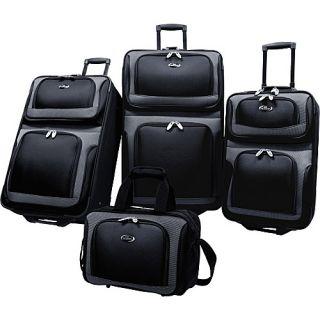 U s Traveler New Yorker 4 Piece Luggage Set 4 Colors