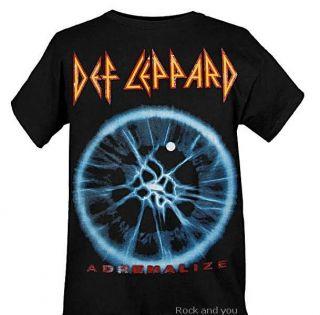 DEF LEPPARD Adrenalize CD hard rock T Shirt M L NWT