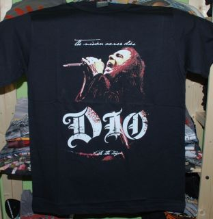 Dio Black T Shirt New Small Medium Large XLarge Ronnie James Black