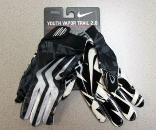 Nike Vapor Trail 2.0 Football Gloves with Magni Grip YOUTH LARGE