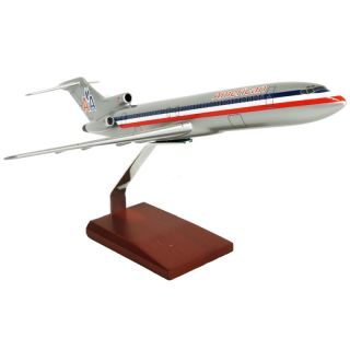 American Airlines 1 100 Boeing 727 200 Desk Top Display Model Aircraft