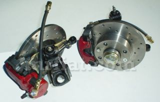 this is a new front disc brake conversion kit for