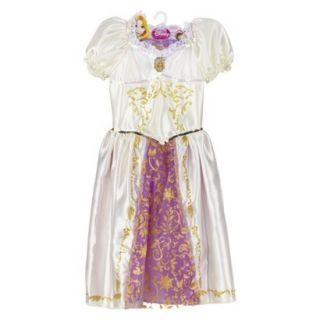 Disney Princess Rapunzel Wedding costume girl dress up 4 5 6