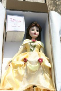 Disney Princess Aurora Brass Key Porcelain Doll 18