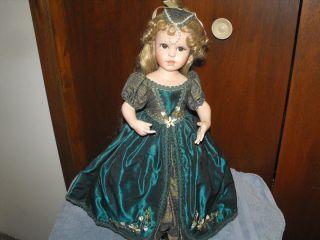 brigitte deval princess porcelain doll # 4303 fa