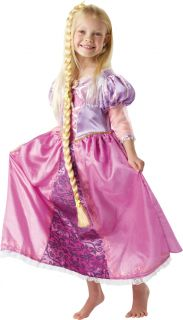 Deluxe Rapunzel Disney Fancy Dress Girls Costume 3 8 Yr