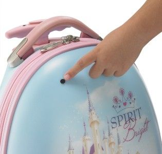 Heys USA Disney Fairies Pixie Dust Hits The Spot 18 Fiber Optic Carry