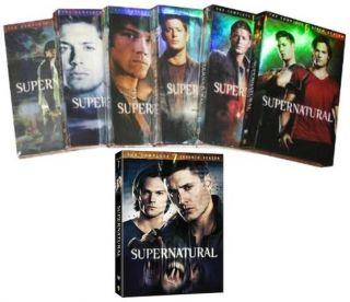 SUPERNATURAL SEASONS 1 7 DVD NEW COMPLETE SERIES 1 2 3 4 5 6 7