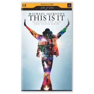 Michael Jackson This Is It 2009 UMD Video for PSP 043396338852