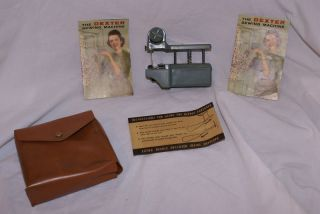 Vintage Dexter Sewing Machine Company Chicago, ILL Hand Held