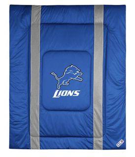 Detroit Lions Twin Full Queen Comforter Set
